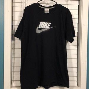 Nike Men's T-shirt Black Size XXL